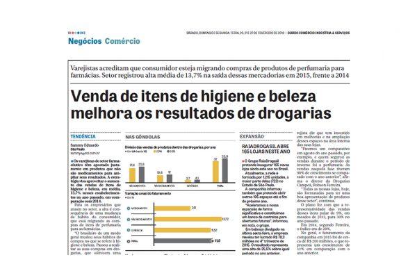 Abrafarma – Jornal DCI – 20 a 22/02/2016