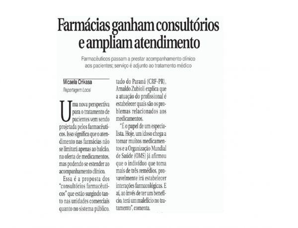 Abrafarma – Folha de Londrina – 11/07/2016