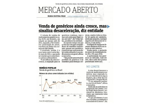 Abrafarma – Folha de S.Paulo – 03/04/2016