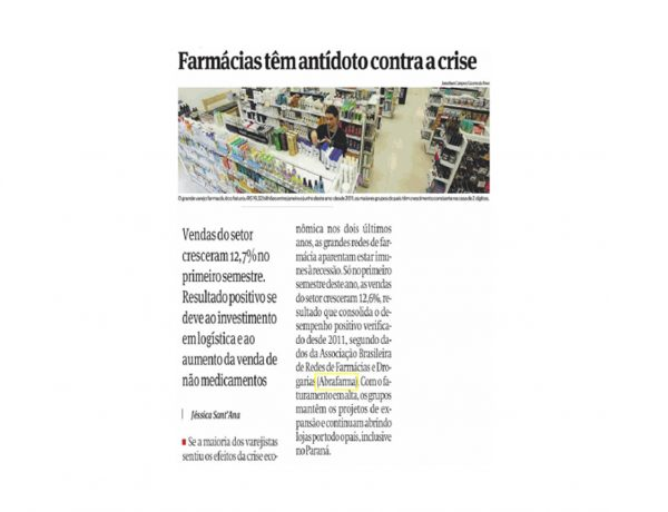 Abrafarma – Gazeta do Povo – 11/08/2016