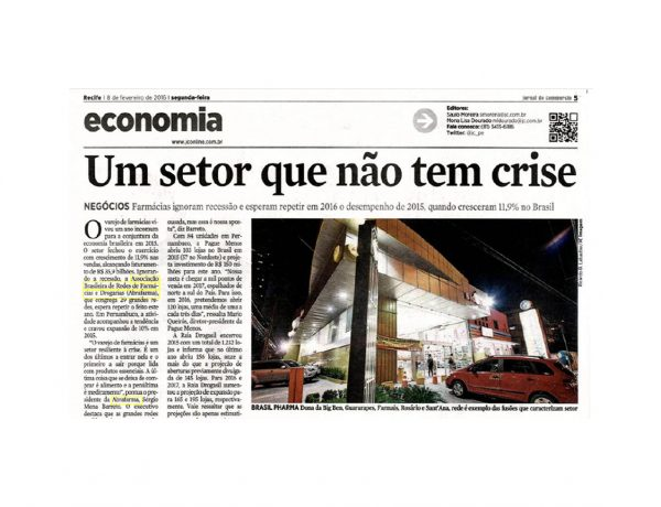 Abrafarma – Jornal do Commercio – 08/02/2016