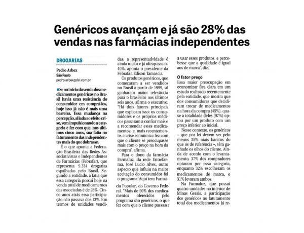 Abrafarma – Jornal DCI – 25/10/2016