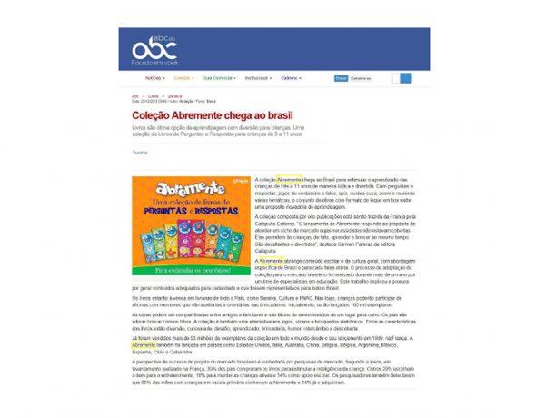 Abremente – ABC do ABC – 20/12/2016