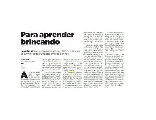 Abremente – Diário do Amazonas – 06/11/2016