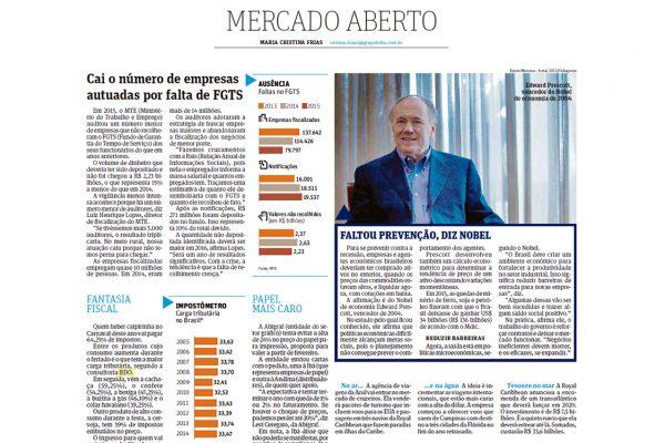 BDO – Folha de S.Paulo – 31/01/2016