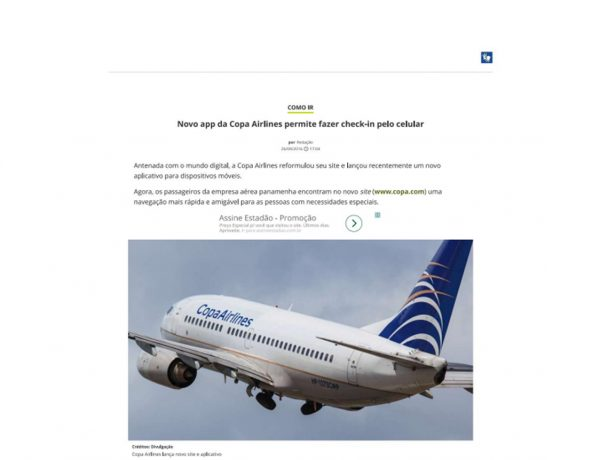 Copa Airlines – Catraca Livre – 26.09.2016