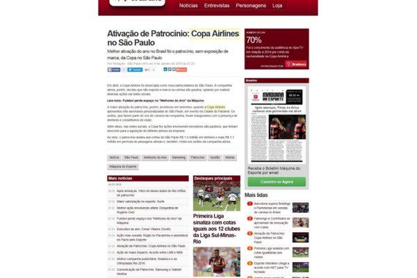 Copa Airlines – Maquina do Esporte – 04.02.2016