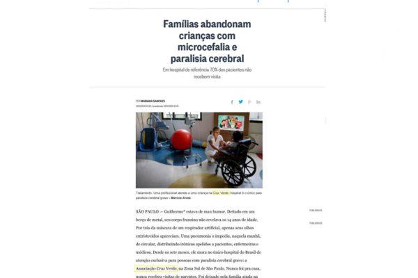 Cruz Verde – Jornal O Globo – 11.01.2016