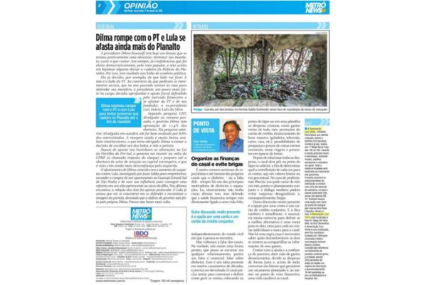 Cruz Verde – Metrô News – 01.03.2016