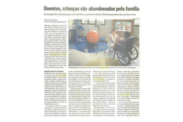 Cruz Verde – O Globo – 11.01.2016