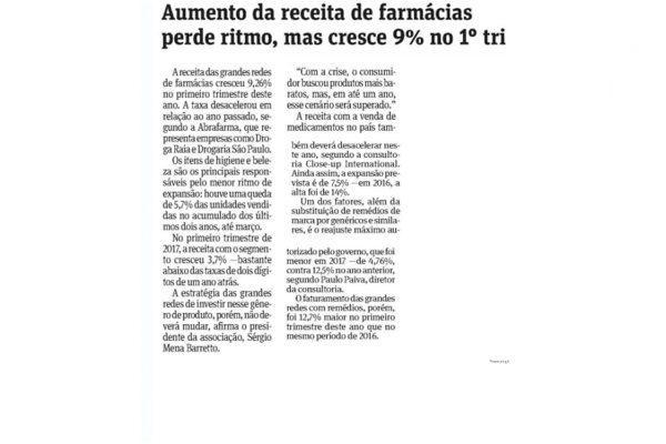 Abrafarma – Folha de S.Paulo – 18.05.2017