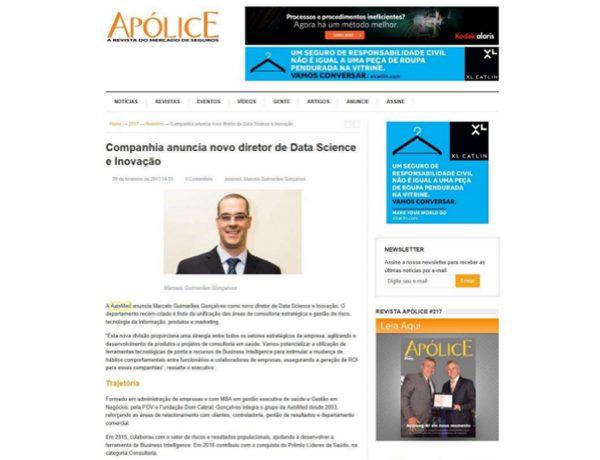 Axismed – Revista Apólice – 20.02.2017