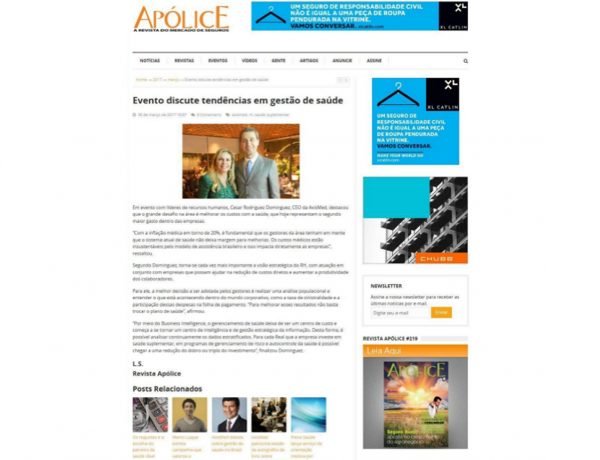 Axismed – Revista Apólice – 30.03.2017