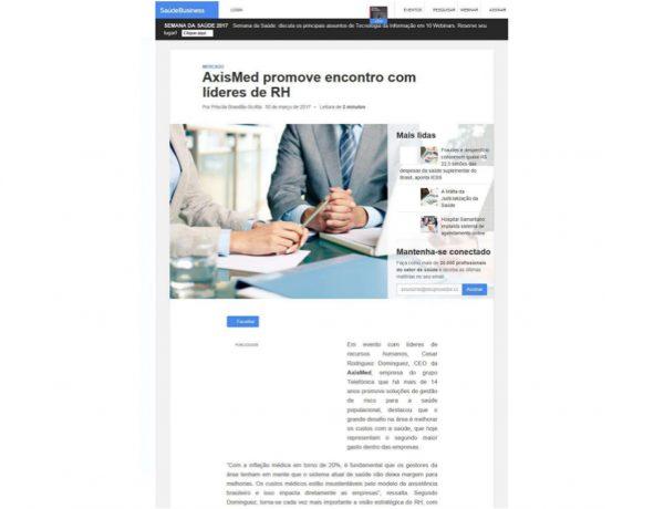 Axismed – Saúde Business – 30.03.2017