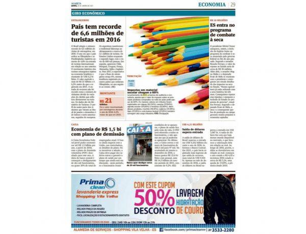 BDO – A Gazeta de Vitória- 06.01.2017