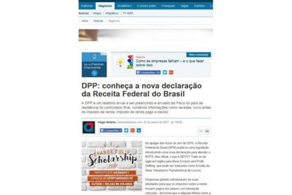 BDO – Portal Administradores – 23.01.2017