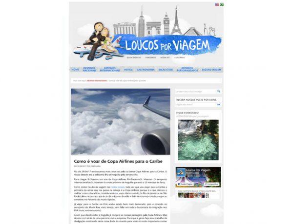 Copa Airlines – Loucos por Viagem – 15.05.2017