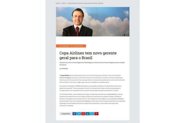 Copa Airlines – Revista Viajar pelo Mundo – 04.04.2017