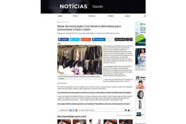 Cruz Verde – Portal R7 – 14.03.2017