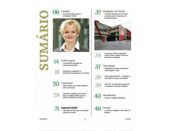 Cruz Verde – Revista Hospitais – 01.03.2017