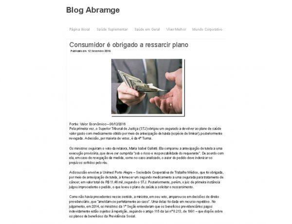 Dagoberto Advogados – Blog Abramge – 12.12.2016