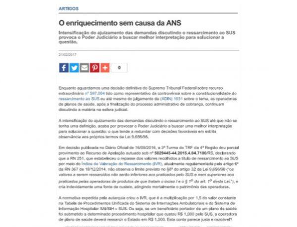 Dagoberto Advogados – Hospitais Brasil – 21.02.2017