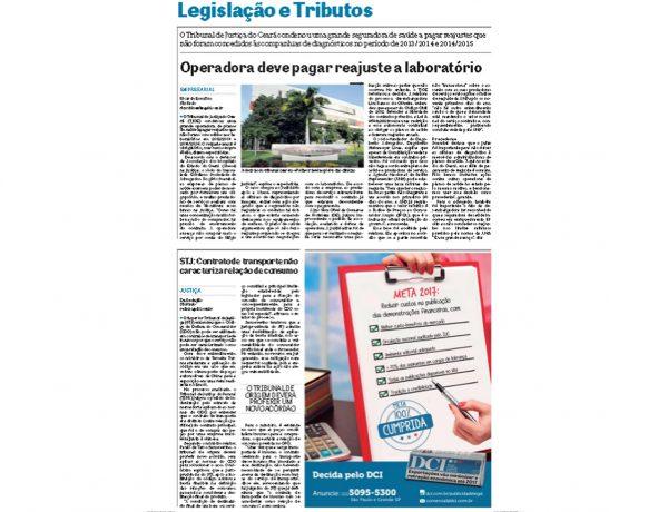 Dagoberto Advogados – Jornal DCI – 29.03.2017