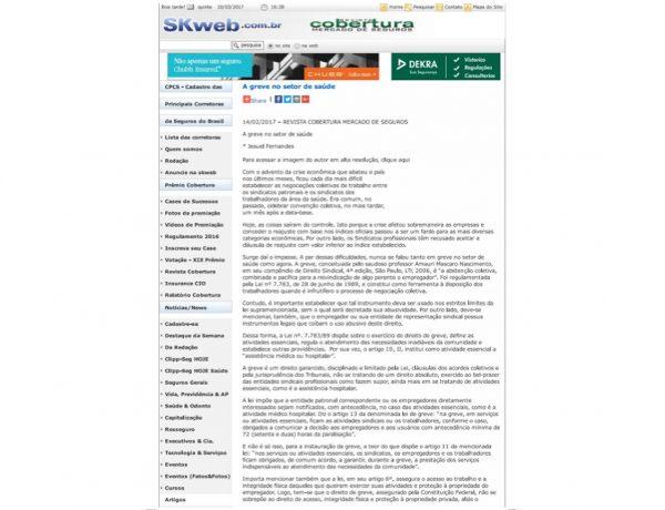 Dagoberto Advogados – Revista Cobertura – 14.02.2017