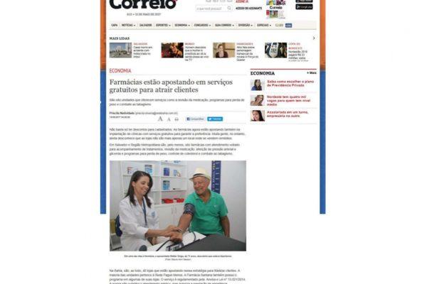 Farmácias Pague Menos – Correio da Bahia – 14.05.2017
