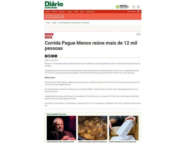 Farmácias Pague Menos – Diário do Nordeste – 08.05.2017