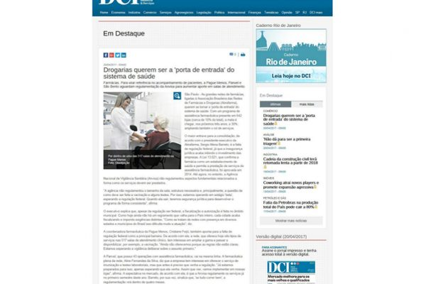 Farmácias Pague Menos – Jornal DCI – 24.04.2017