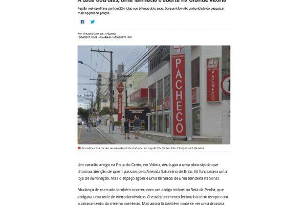 Farmácias Pague Menos – Portal G1 – 15.04.2017