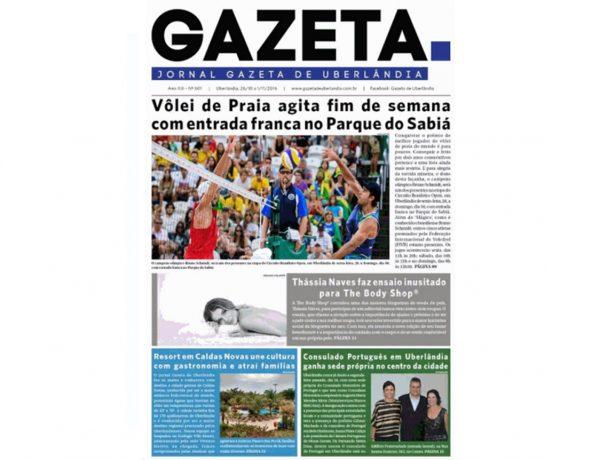 Vivence – Gazeta de Uberlândia – 26.10.2016