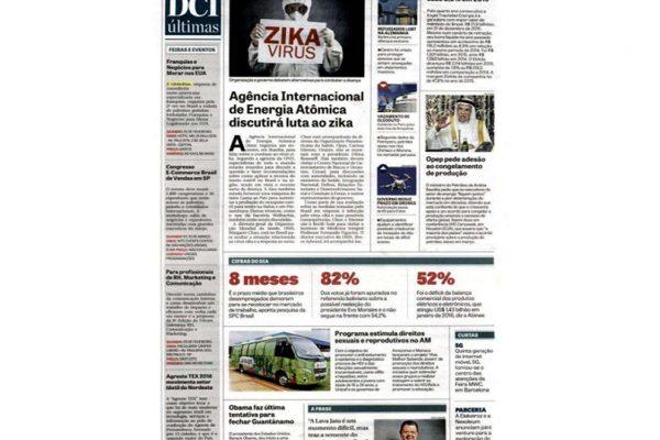 Globofran – Jornal DCI – 24.02.2016