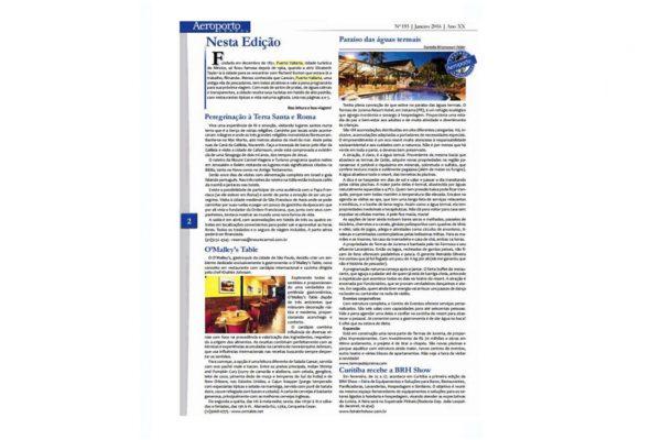 PV e RN – Aeroporto Jornal – 01.2016