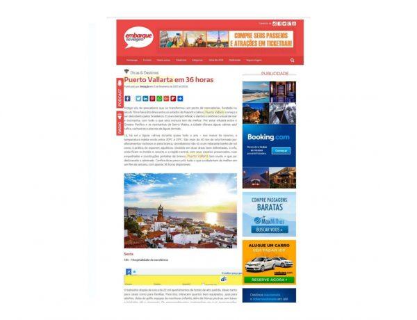 Puerto Vallarta – Embarque na Viagem – 03.02.2017