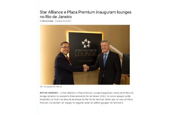 Star Alliance – Aeroagora – 09.12.2016