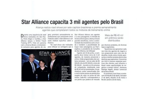 Star Alliance – Brasilturis – 01.03.2016