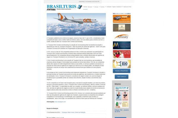 Travelport – Brasilturis Jornal – 11.02.2016