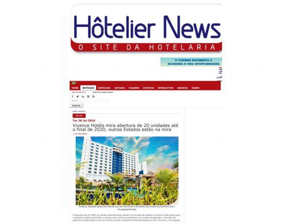 Vivence – Hôtelier News – 26.07.2016