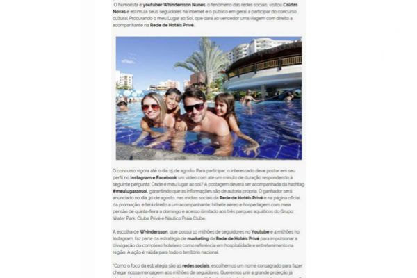 Prive Hotéis & Resorts- Promoview – 22.07.2016