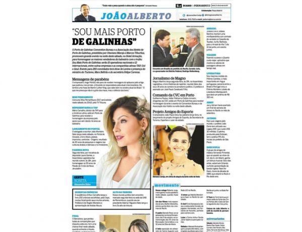 Porto de Galinhas – Diário de Pernambuco – 27.05.2017