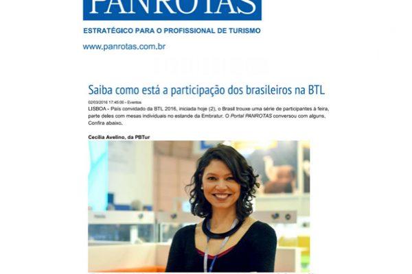 Porto de Galinhas – Jornal Panrotas – 02.03.2016