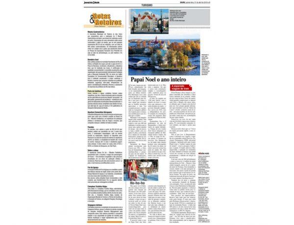 Porto de Galinhas – Jornal da Cidade – 21.04.2016