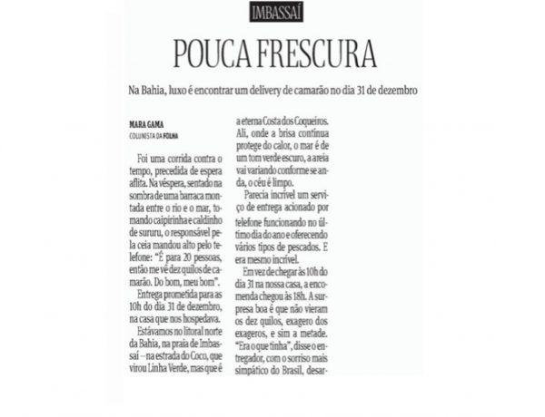 Prive Hotéis & Resorts – Folha de S.Paulo – 20.10.2016