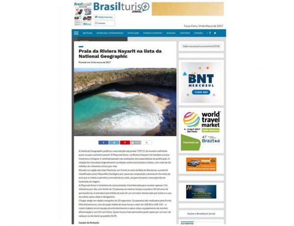Riviera Nayarit – Brasilturis – 14.03.2017