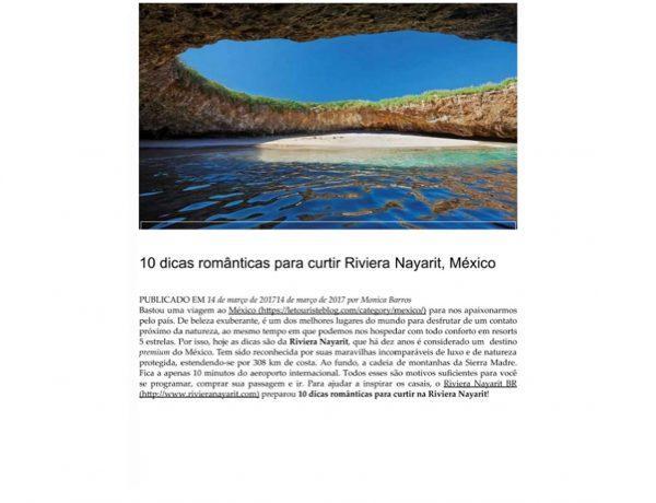Riviera Nayarit – Le Touriste – 14.03.2017