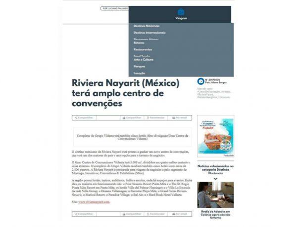 Riviera Nayarit – Turismo e ETC. – 04.05.2017