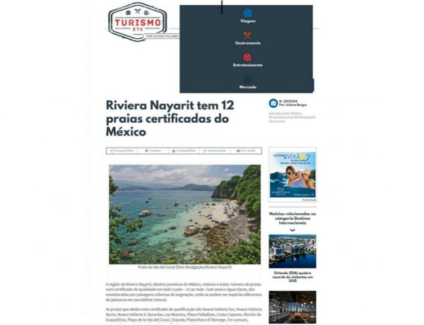 Riviera Nayarit – Turismo e ETC. – 14.03.2017