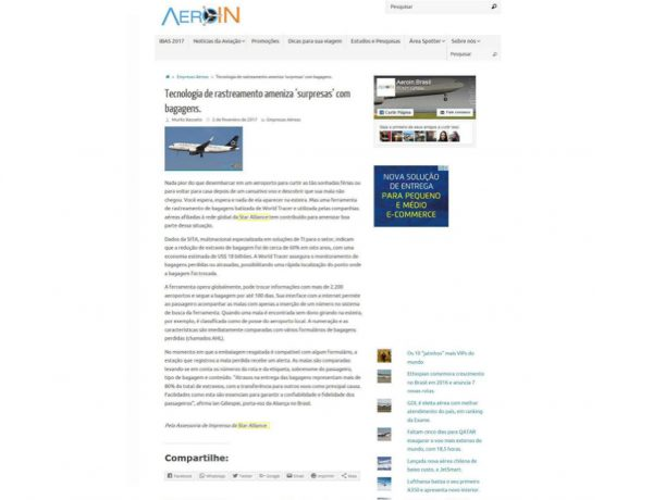 Star Alliance – Aeroin – 02.02.2017